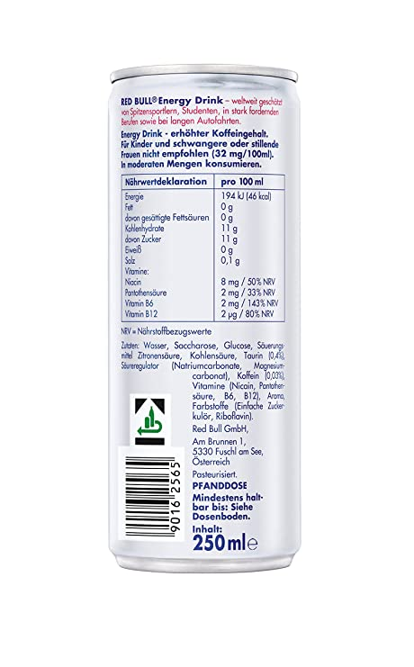 Red Bull Energy Drink, 6.51 kg: Amazon.co.uk: Grocery