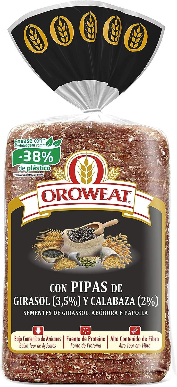 Oroweat Pipas de Girasol y Calabaza y Semillas de Amapola, pan ...
