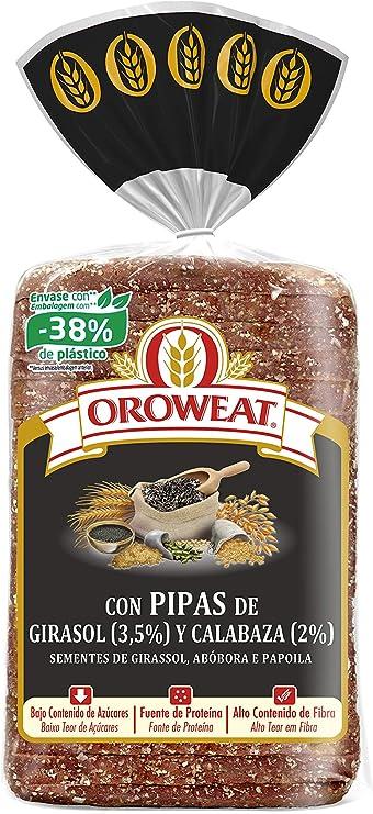 Oroweat Pan Multicereales con Corteza con Pipas de Girasol y Calabaza y Semillas de Amapola, 16 Rebanadas, 680g