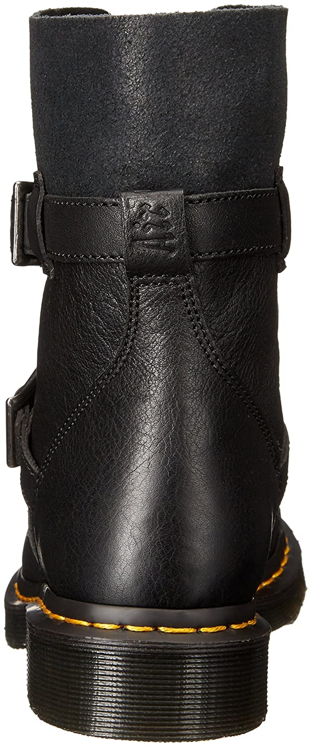 Dr. Martens Women's Leather Kristy in Black Virginia Leather Women's Fashion Boot B012Q285BK 7 Medium UK (9 US)|Black Virginia Leather a66007