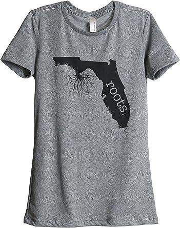 Tenacitee Mens Living in Nevada Florida Roots T-Shirt
