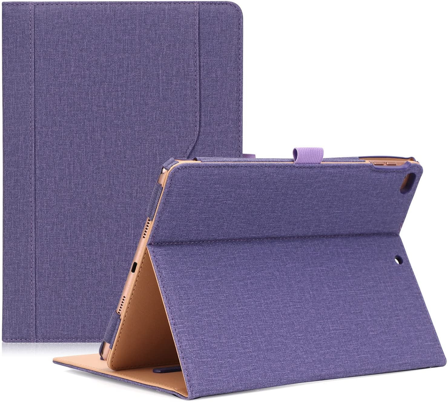 ProCase iPad 9.7 Case 2018/2017 iPad Case - Stand Folio Cover Case for Apple iPad 9.7 inch, Also Fit iPad Air 2 / iPad Air -Purple