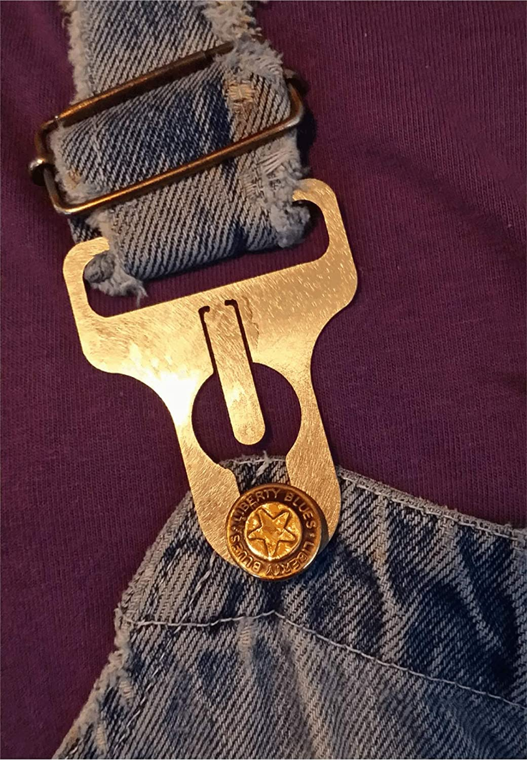 Overall Buckles SS for 1 5//8 Straps