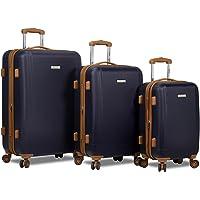 Dejuno Legion Hardside Spinner Combination-Lock 3-Piece Luggage Set (Multiple Colors)