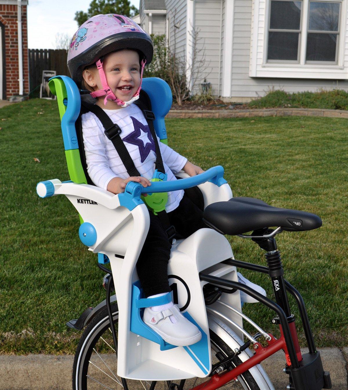 Kettler Fahrradzubehör Kindersitz Flipper Weiß Blau 08947 590
