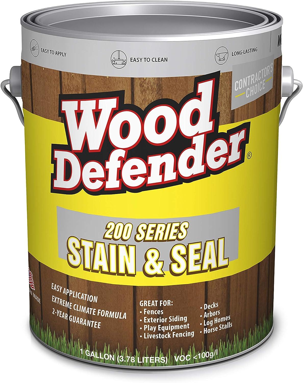 Wood Defender 200 Series Sierra Semi-Transparent Stain & Sealer gallon