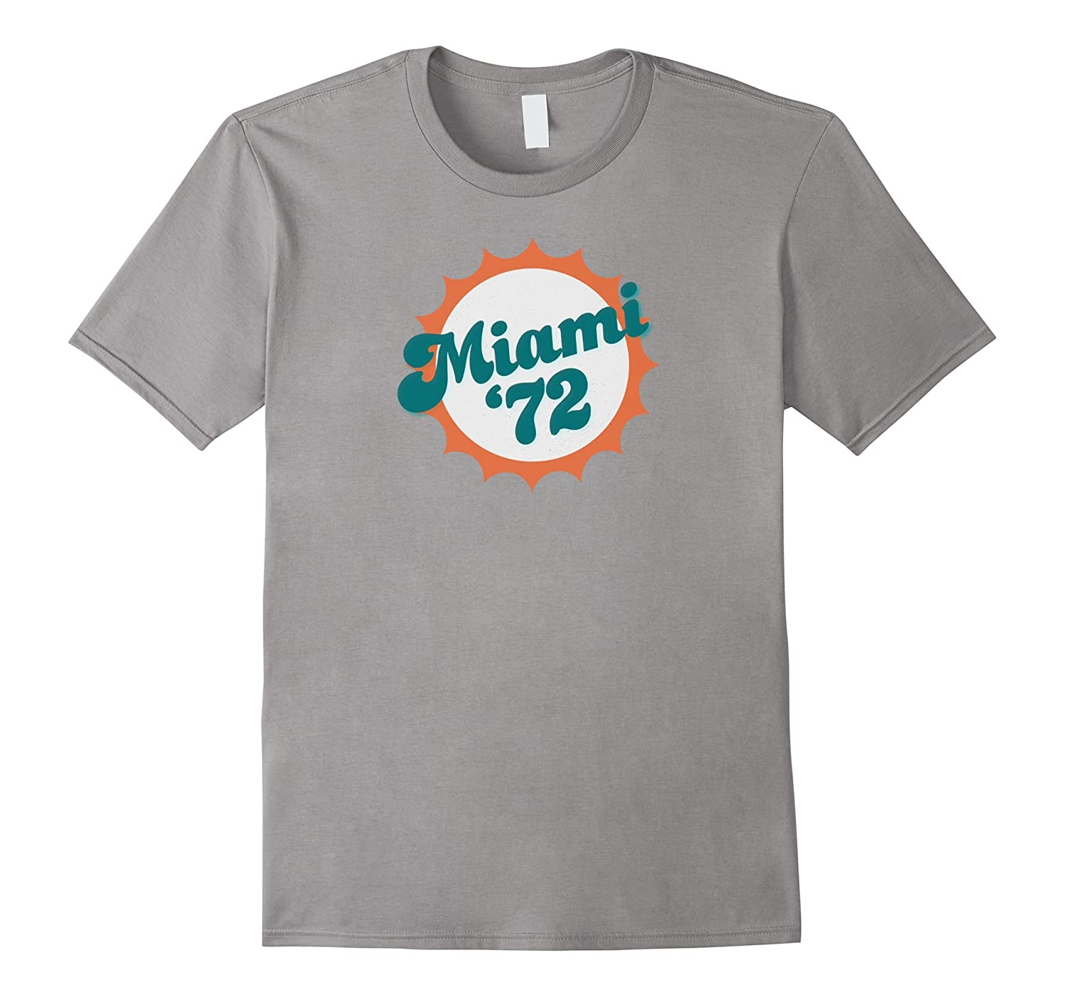 Miami 1972 Shirt Undefeated Sports Vintage Tee-T-Shirt