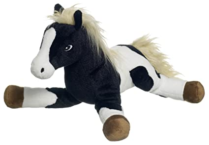 Cheval peluche indien style 30cm