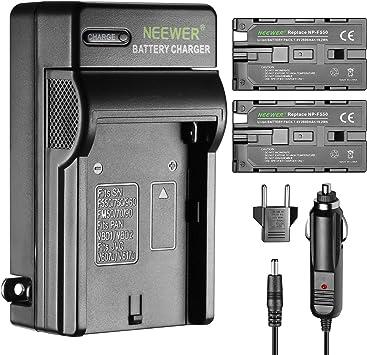Neewer 2 Piezas 2600mAh Li-ion Batería de Reemplazo para Sony F550 ...