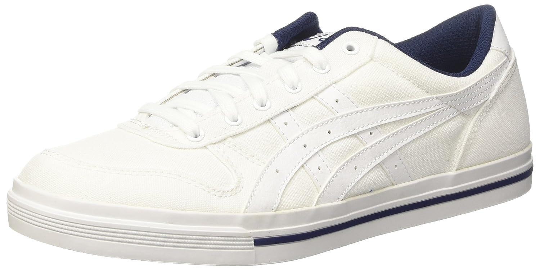Asics Herren Aaron Sneaker, Grau  39 EU|Elfenbein (Bianco)