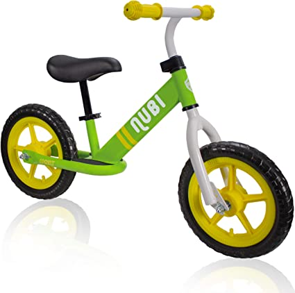 """Nubi Sprint 12/"""" Kids Balance Bike Ages 18 Months to 5 Years Pedal-Less Toddler Bike for Boys and Girls"""