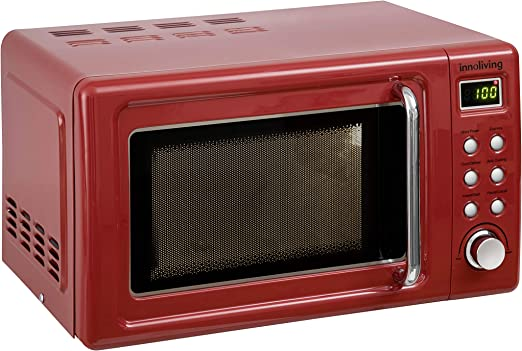 Innoliving INN861R Horno microondas 20 litros, acero: Amazon.es: Hogar