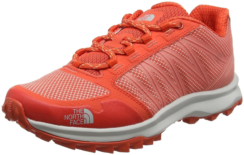 Rouge (Fire Brick rouge Desert FFaibleer Orange) 40 EU The North Face Litewave Fastpack, Chaussures de Randonnée Basses Femme