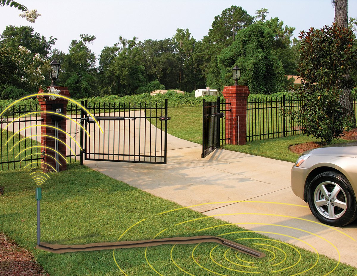100 Ft Driveway Vehicle Sensor for Mighty Mule Automatic Gate Opener FM140