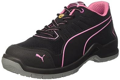Puma 644110.36 Chaussures de sécurité quot Fuse TC Pink quot  pour femme  Low S1P ESD SRC b54351552c93