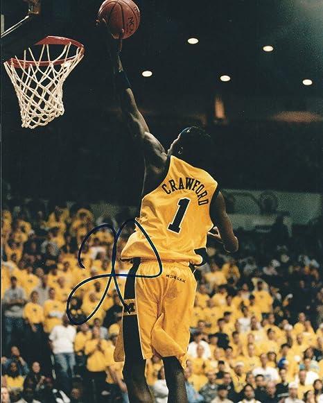 a7f88d8c Autographed Jamal Crawford University of Michigan 8x10 Photo W/coa ...