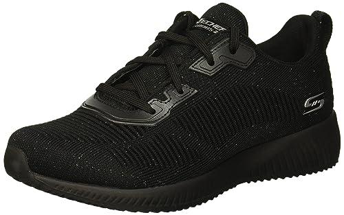 Skechers Bobs Squad-Total Glam, Zapatillas para Mujer: Skechers Bob: Amazon.es: Zapatos y complementos