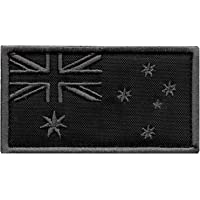 ACU Australia Flag Subdued Morale Tactical Tab Badge Army Gear Embroidery Fastener Patch