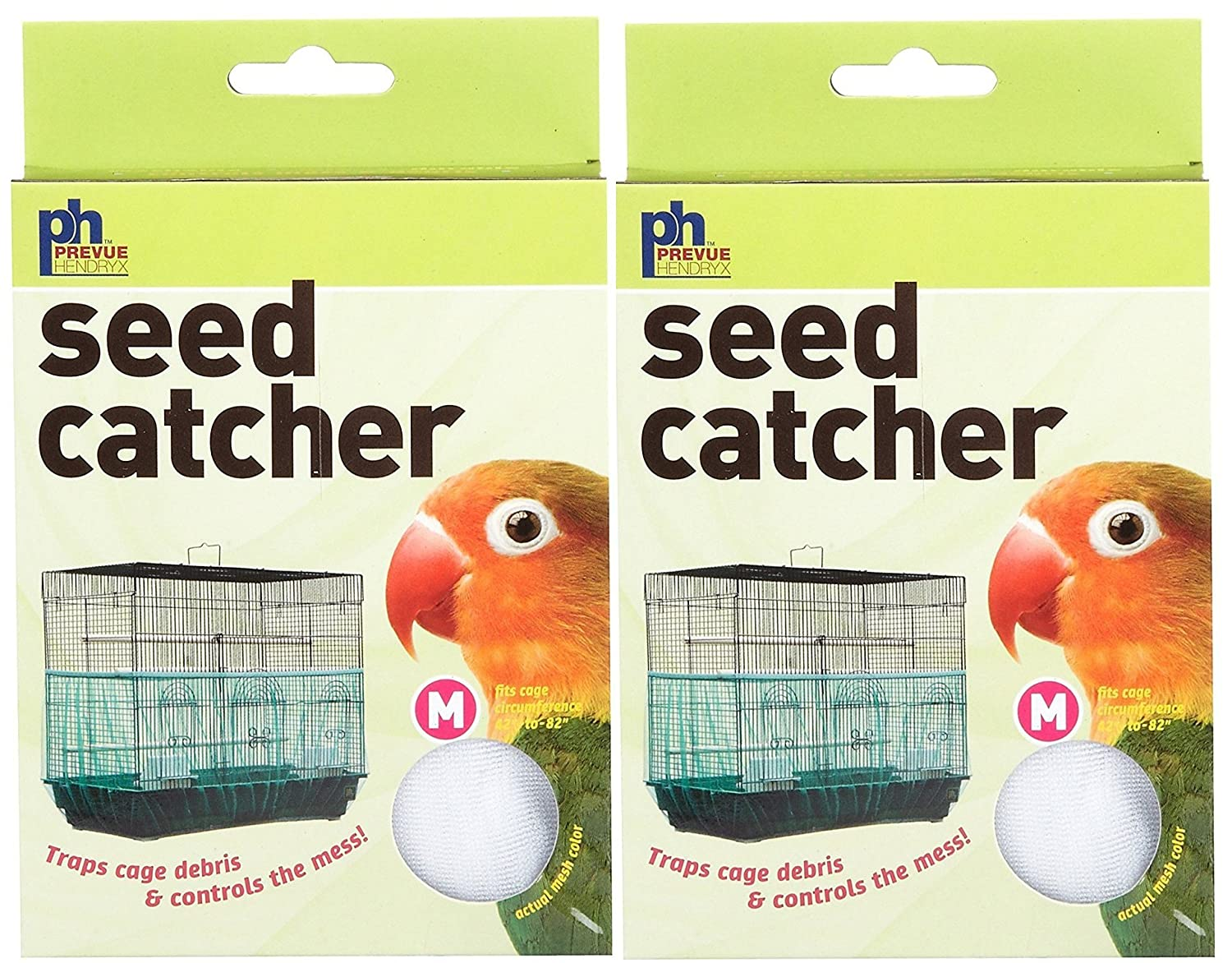 (2 Pack) Seed Catcher, Medium Prevue Pet Products Inc