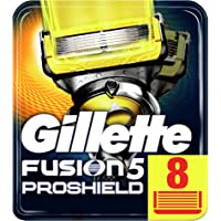 Gillette Fusion ProShield scheermesjes voor mannen, verpakking met 8 stuks, geschikt voor brievenbus, verpakking