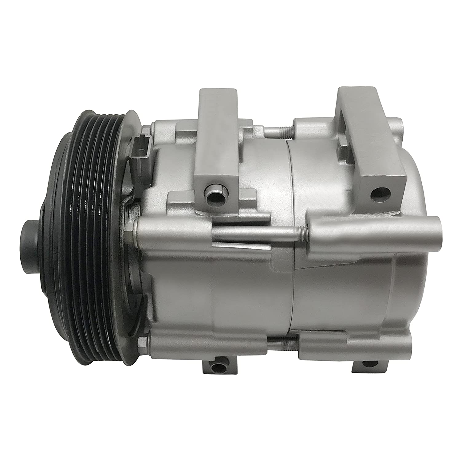 RYC Remanufactured AC Compressor and A//C Clutch Kit EG162K1 SOHC ONLY