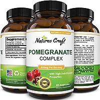 Natural & Pure Pomegranate Supplement for Women & Men - Powerful Antioxidant Pills...