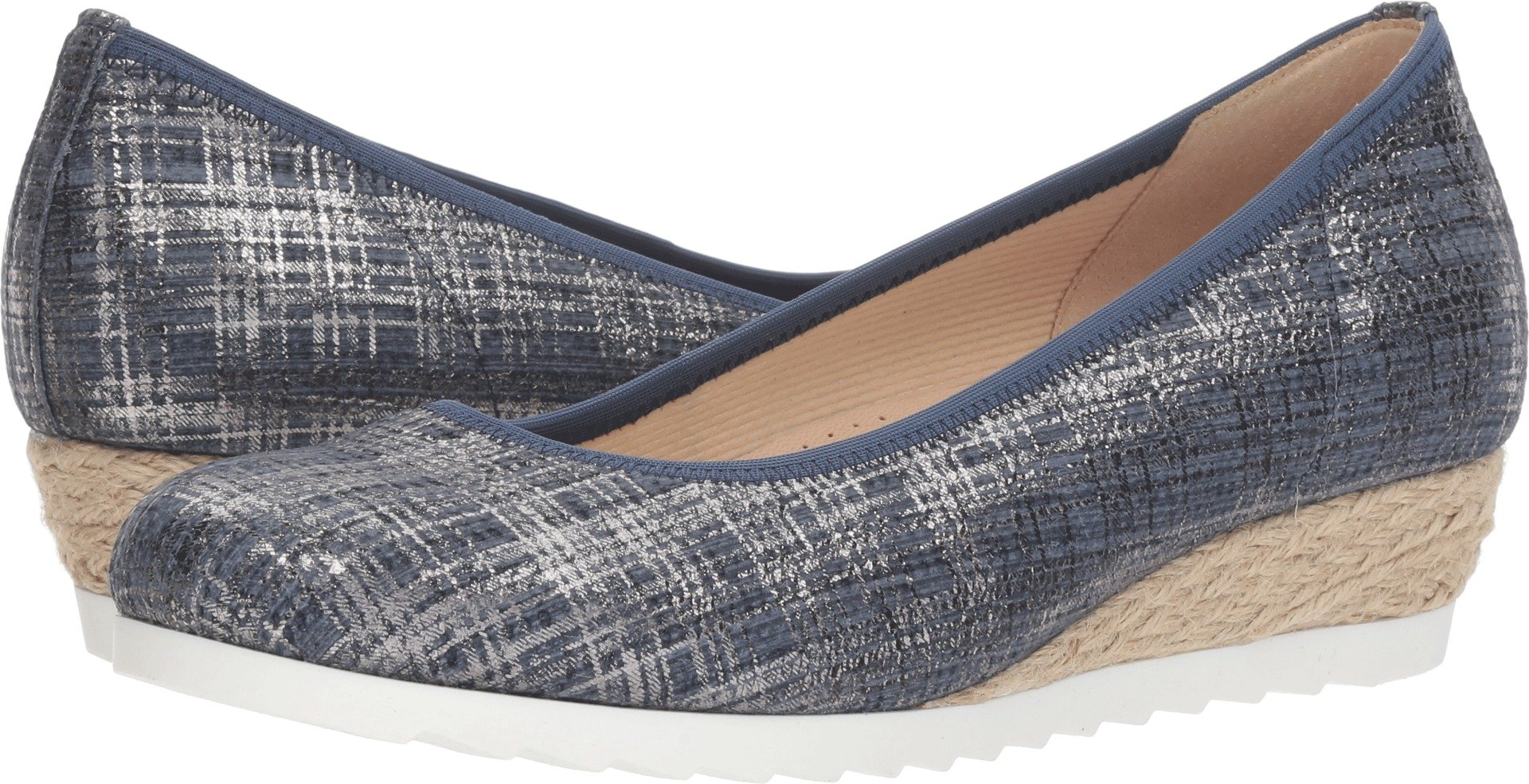 Gabor Women's 82.641 Jeans Cotton Metallic 5.5 B UK