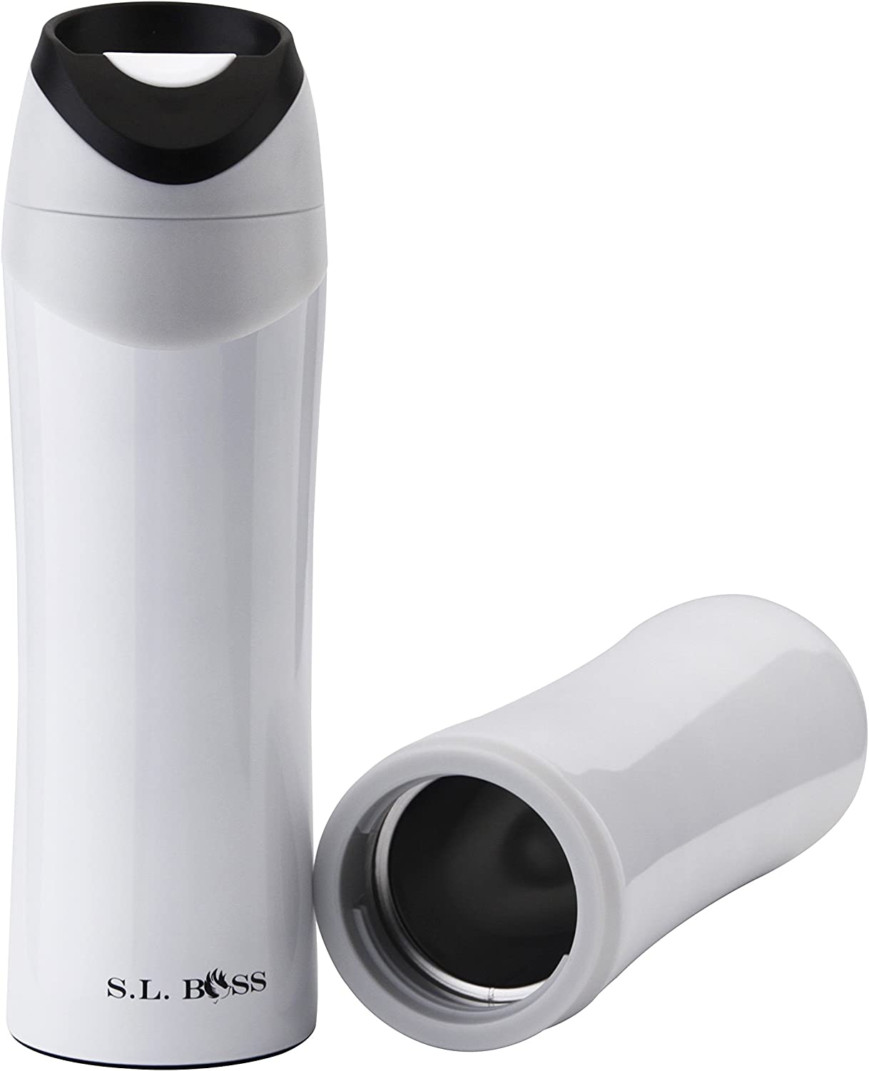 Stainless Steel Double Wall Vacuum Insulated Coffee Travel Mug Tumbler Water Coffee Cup Keeps Beverages Hot And Cold For Home School Office Leak Proof 16oz 500ml Amazon Ca Home Kitchen