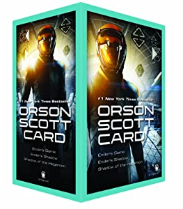 Ender's Game Boxed Set I: Ender's Game, Ender's Shadow, Shadow of the Hegemon (The Ender Quintet)