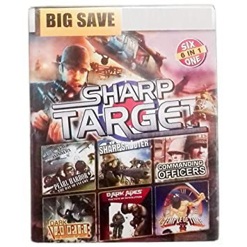 Sharp Target Shooting and WAR Game 6 in 1 Games