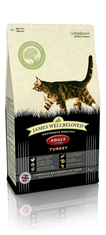 James Wellbeloved Croquettes Dinde et riz Croquettes pour Chats Adultes Su-Bridge Pet Supplies Ltd 03JW7