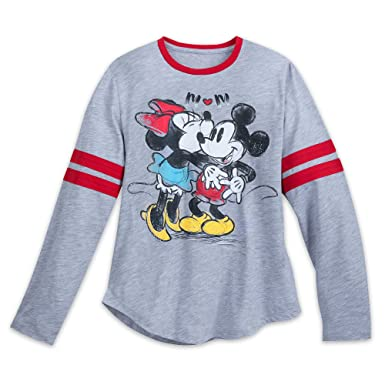 70453fb3cbf Disney Mickey Mouse Minnie Mouse Long Sleeve Shirt Adults Size Ladies M  Multi