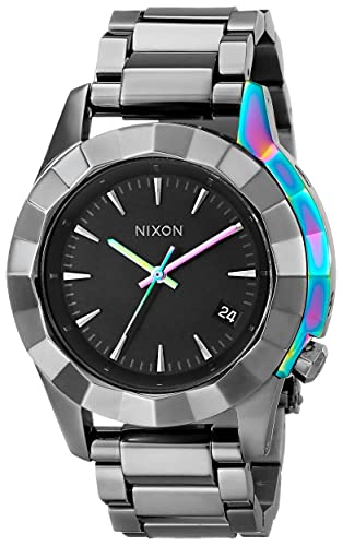 Nixon A2881698 - Reloj de pulsera Mujer, Aleación, color Gris