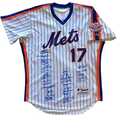 finest selection 1a058 b8773 1986 Mets Ws Champs Autographed Signed Keith Hernandez ...
