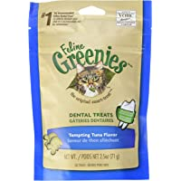 Greenies Dental Treats for Cats - Tuna - 2.5oz
