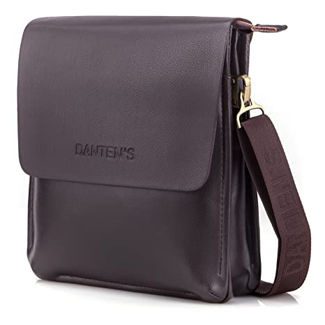 0b1bf4ee07f Image Unavailable. Image not available for. Color  OFTEN Men Shoulder Bag,Leather  Messenger Handbag Crossbody ...