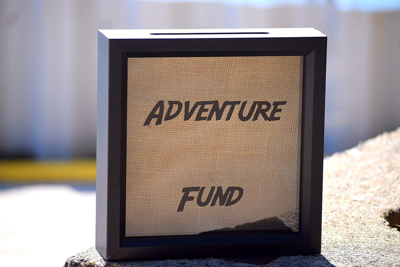 Adventure globe fund Frame Money Box Frame drop box Personalised Universal studios Simpsons Globe Holiday Vacation With plane slot .
