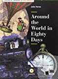 AROUND THE WORLD IN EIGHTY DAYS+CD LIFE SKILL (Black Cat. reading And Training)