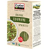 Explore Cuisine Organic Edamame Spaghetti - 8 oz - High in Plant Based Protein, Gluten Free Pasta, Easy to Make - USDA Certified Organic, Vegan, Kosher, Non GMO - 4 Servings