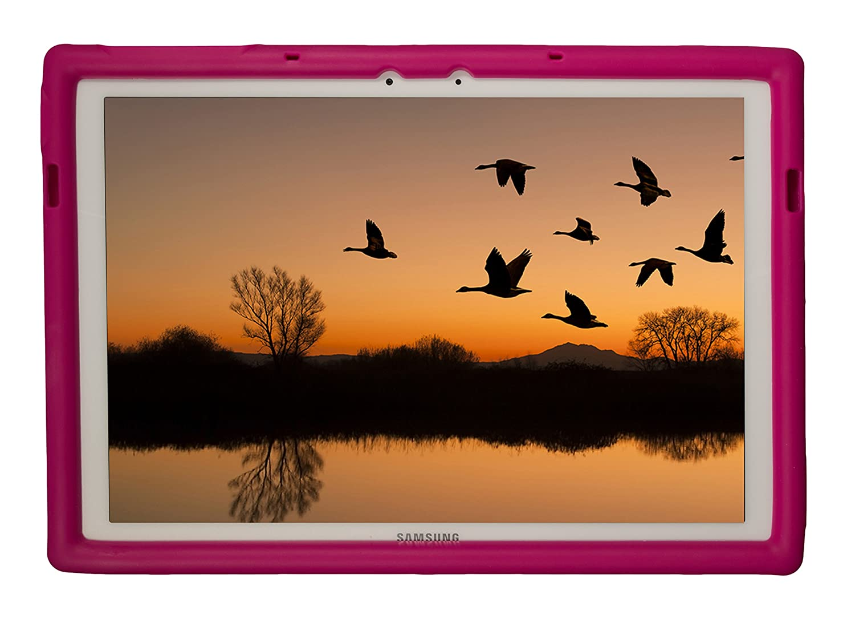BobjGear Carcasa Resistente para Tablet Samsung Galaxy TabPro S 12 - Bobj Funda Protectora Turquesa SM-W700