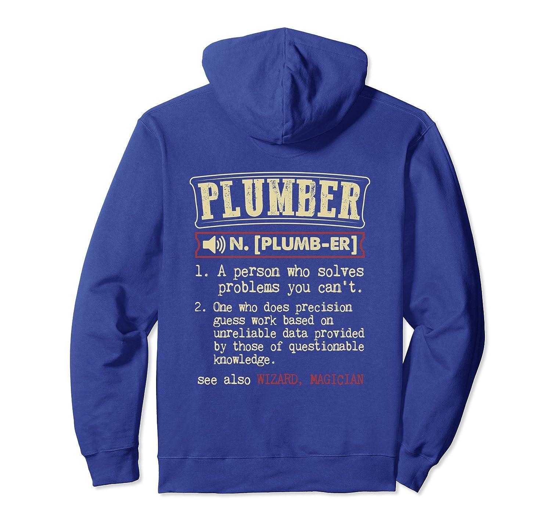 Plumber Definition Hoodie-Teechatpro