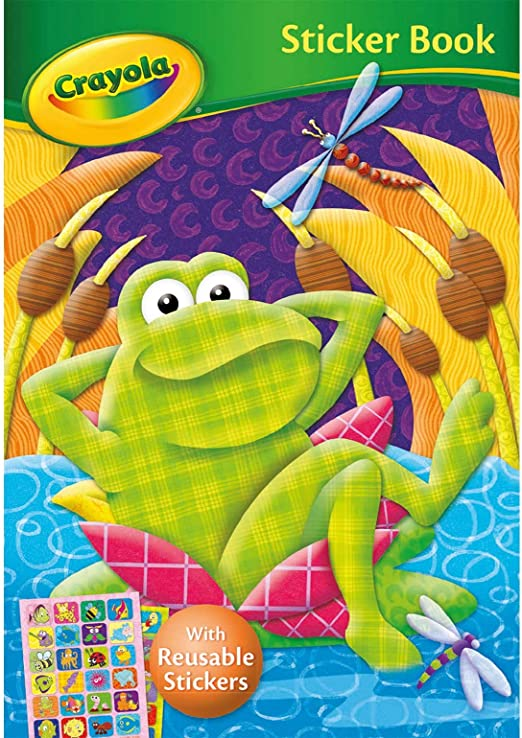 Crayola - Frog Sticker Book