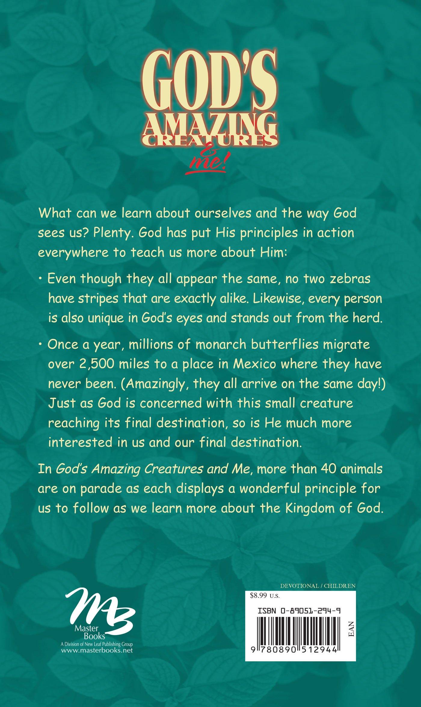 God's Amazing Creatures & Me! Devotions for Boys and Girls Ages 6 to 10 ( Devotions for Boys and Girls Ages 6-10): Helen Haidle, Paul Haidle:  9780890512944: ...