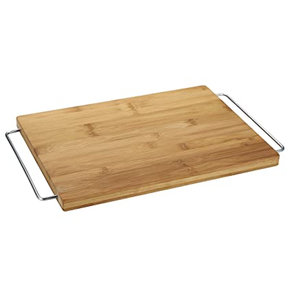 MasterPro Tabla de Corte 41x25x2,0 cm Bamboo Gravity, bambú, Natural, 41