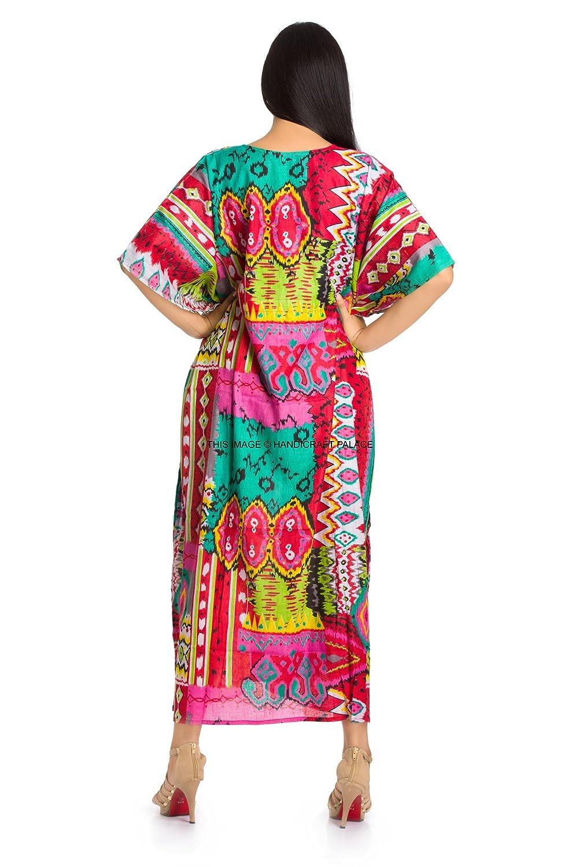 e74a62bd71 Handicraft-Palace Women s Cotton Dressing Gown Caftan Top Combo (KL ...