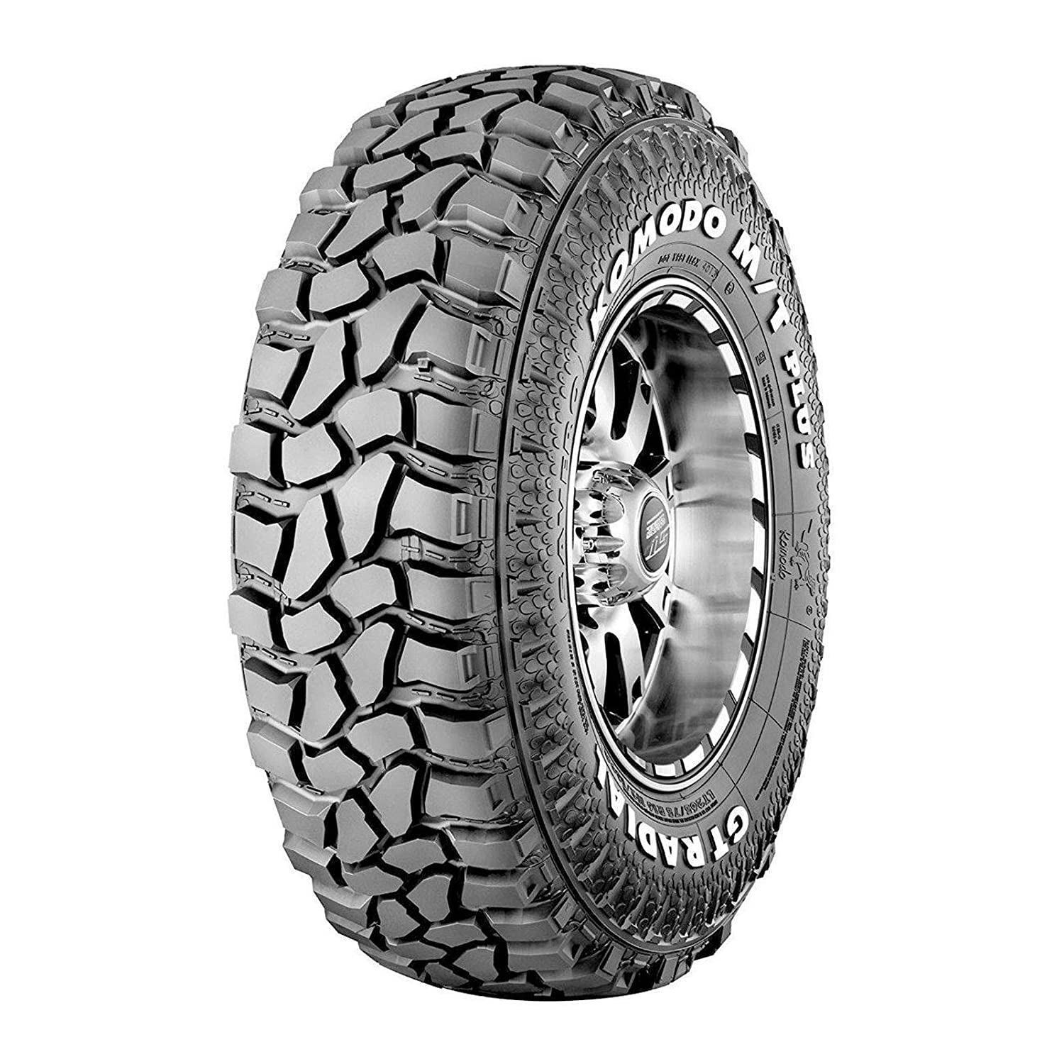 GT Radial Komodo MT+ Off- Road Radial Tire One Size 108Q