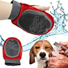 House of Quirk Pets Grooming Mitt Pet Brush (Multicolour)