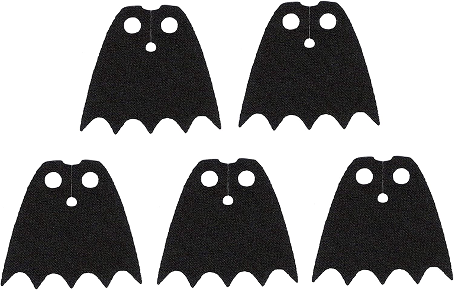 LEGO Star Wars Black Cape Lot of 5 Authentic LEGO® Capes