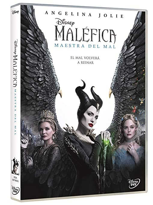 Maléfica Maestra del Mal [DVD]: Amazon.es: Angelina Jolie, Michelle Pfeiffer,, Robert Stromberg, Angelina Jolie, Michelle Pfeiffer,, Robert Stromberg: Cine y Series TV