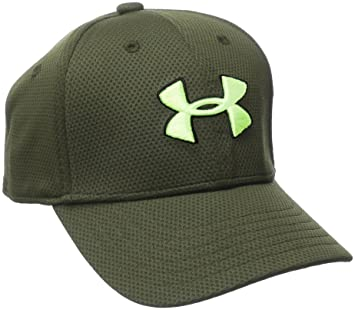 Under Armour Boys Blitzing 2.0 Gorra, Niños, Verde (Downtown Green), ...